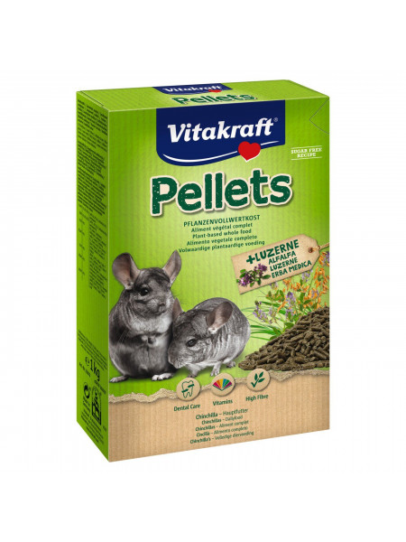 Корм для шиншилл Vitakraft «Pellets» 1 кг