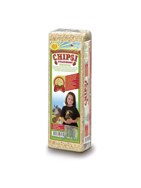 Гигиенический наполнитель для грызунов Chipsi «Strawberry» 15 л (тырса)