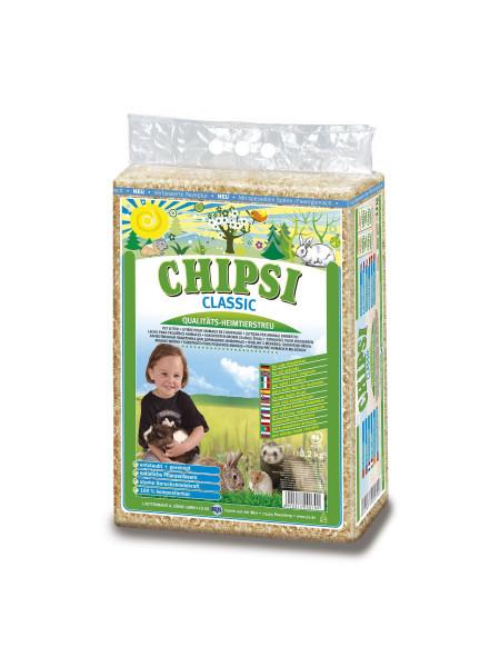 Гигиенический наполнитель для грызунов Chipsi «Classic» 60 л (тырса)