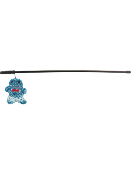 Игрушка для кошек Trixie Удочка с фигуркой 46 см (плюш)