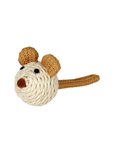 Игрушка для кошек Trixie Мышка с погремушкой 5 см
