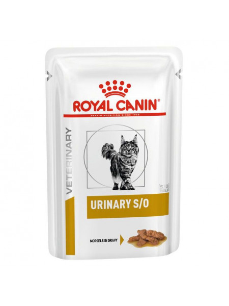 Влажный корм для кошек, для поддержания мочевыделительной системы Royal Canin Urinary S/O 85 г (домашняя птица)