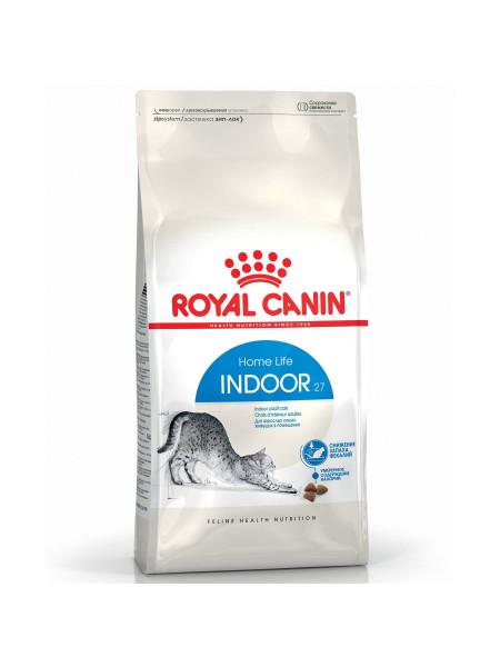 Сухой корм для кошек, живущих в помещении Royal Canin Indoor 27, 2 кг (домашняя птица)