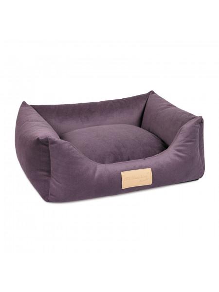 Лежак Pet Fashion «MOLLY» 52 х 40 х 17 см(фиолетовый)