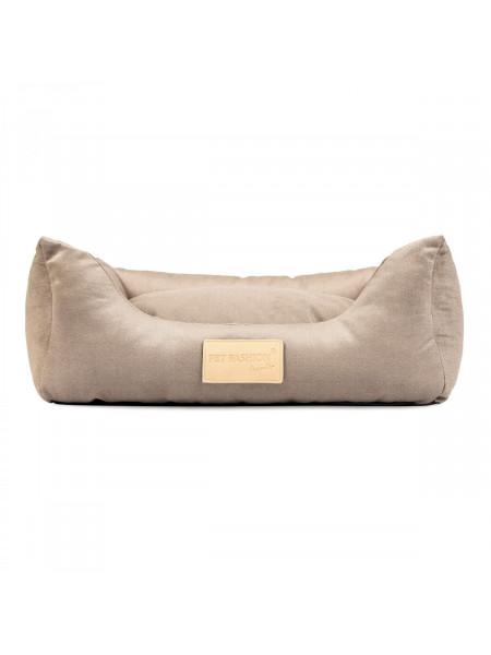Лежак Pet Fashion «MOLLY» 52 х 40 х 17 см (песочный)