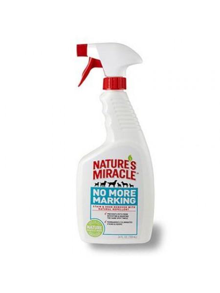 Спрей Nature's Miracle «Stain & Odor Remover. No More Marking» для удаления пятен и запахов от собак, и против повторных меток 709 мл