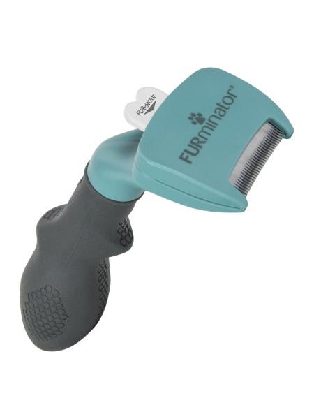 Инструмент для удаления подшерстка FURminator для короткошерстных кошек, размер S