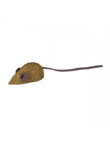 Игрушка для кошек Trixie Мышка 5 см, набор 2 шт. (кожа)