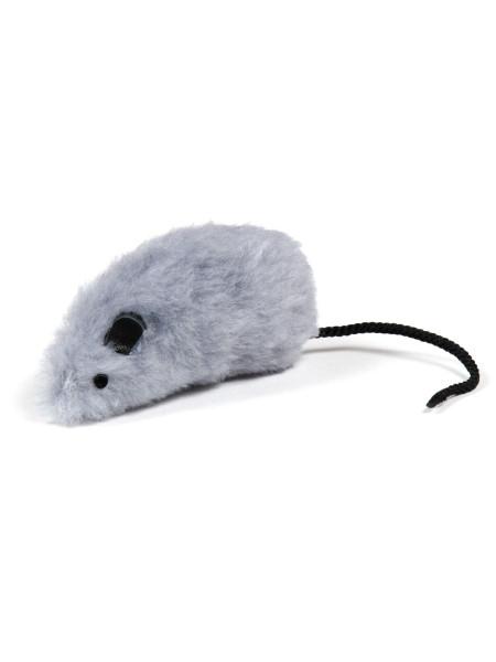 Игрушка для кошек Природа Мышка серая 8 x 4 см (плюш)