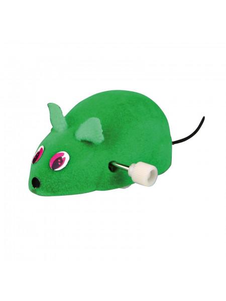 Игрушка для кошек Trixie Мышка заводная 7 см (пластик, цвета в ассортименте)