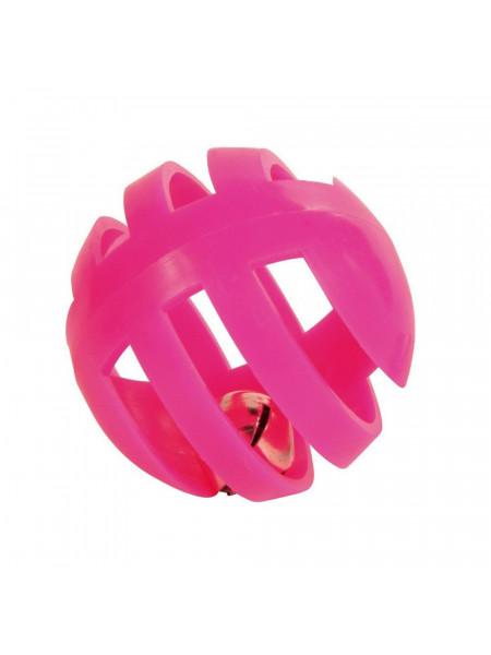 Игрушка для кошек Trixie Мяч с погремушкой d=4 см, набор 4 шт. (пластик, цвета в ассортименте)