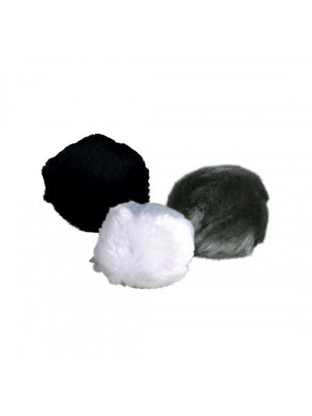 Игрушка для кошек Trixie Мяч с погремушкой d=3 см (плюш, цвета в ассортименте)