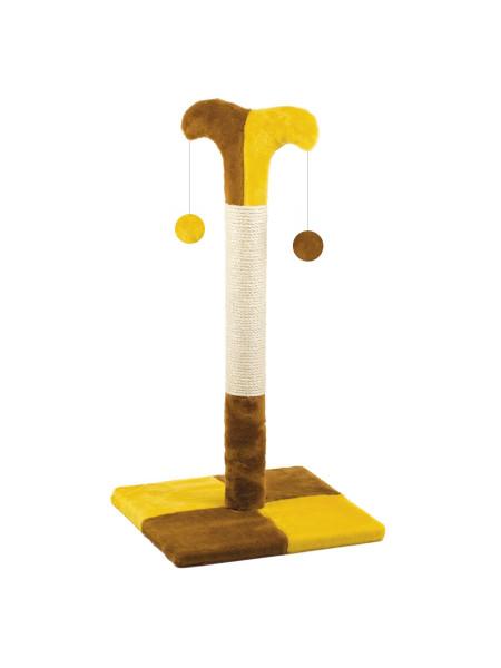 Когтеточка-Столбик Природа «Клоун Д02» (коричневая)