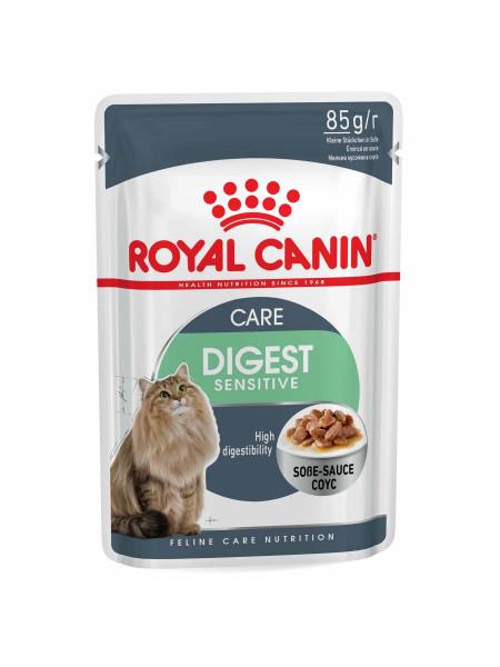 Влажный корм для котов с чувствительным пищеварением Royal Canin Digest Sensitive 85 г (домашняя птица)