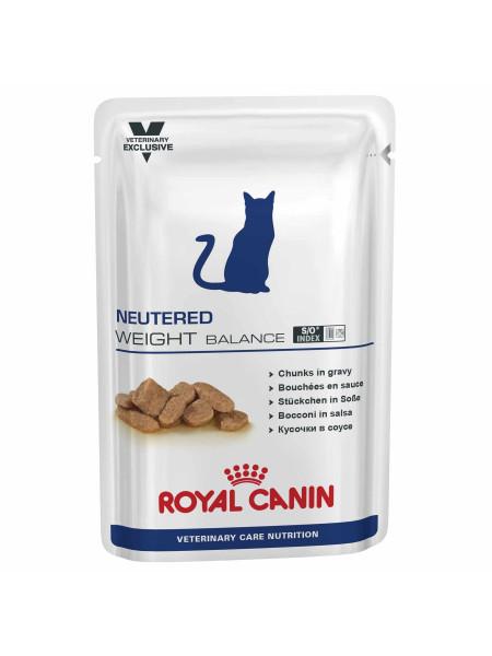 Влажный корм для стерилизованных кошек, с лишним весом Royal Canin Neutered Weight Balance 100 г (домашняя птица)
