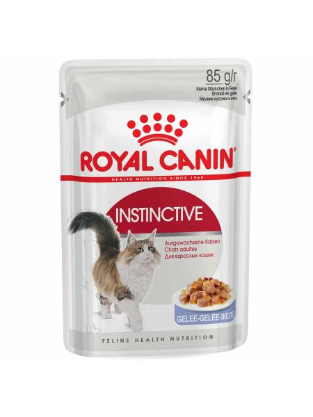 Влажный корм для кошек Royal Canin Instinctive Jelly 85 г (домашняя птица)