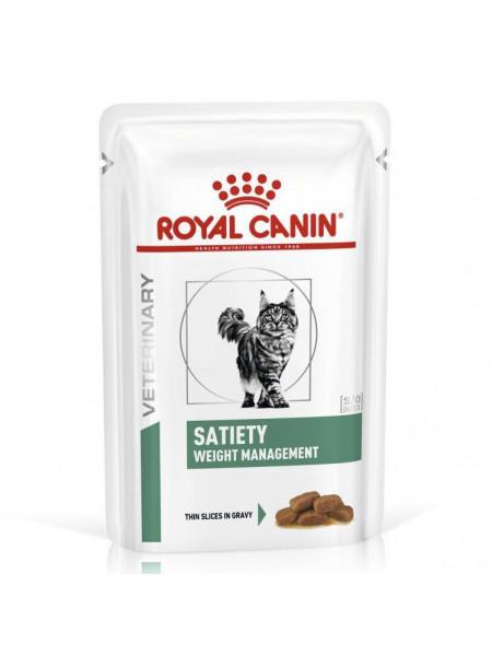 Влажный корм для кошек с лишним весом Royal Canin Satiety Weight Management 85 г (домашняя птица)