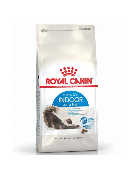 Сухой корм для длинношерстных кошек, живущих в помещении Royal Canin Indoor Long Hair 2 кг (домашняя птица)