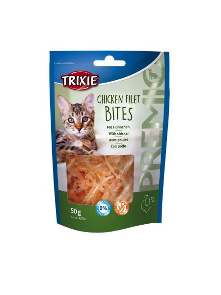 Лакомство для кошек Trixie PREMIO Chicken Filet Bites 50 г (курица)
