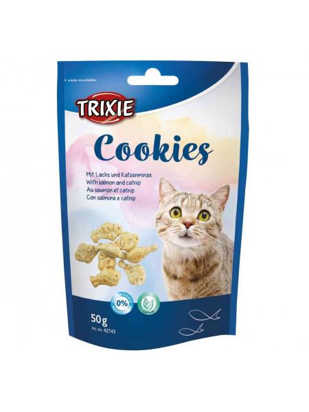 Лакомство для кошек Trixie Cookies 50 г (лосось)