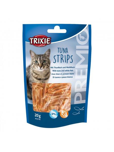 Лакомство для кошек Trixie PREMIO Tuna Strips 20 г (тунец)