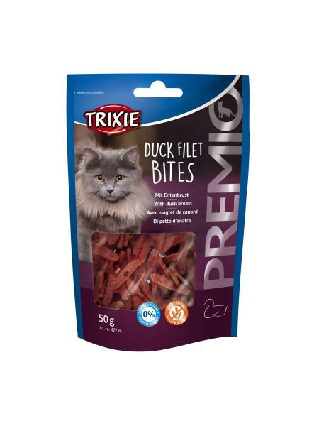 Лакомство для кошек Trixie PREMIO Duck Filet Bites 50 г (утка)
