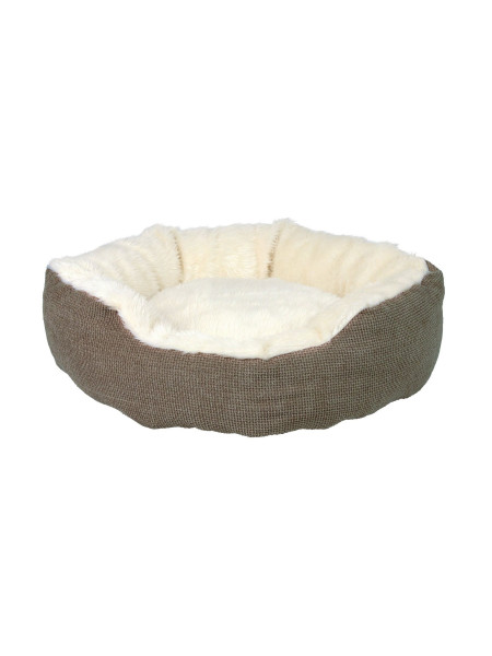 Лежак Trixie «Yuma» d=45 см (коричневый)