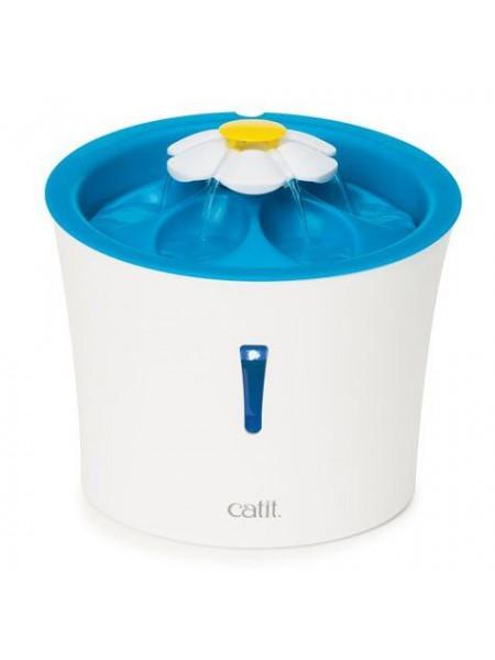 Поилка-Фонтан Catit «Flower Fountain LED» 3 л