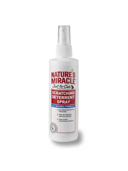 Спрей-Отпугиватель для кошек Nature's Miracle «Scratching Deterrent Spray» 236 мл (для защиты от царапания)