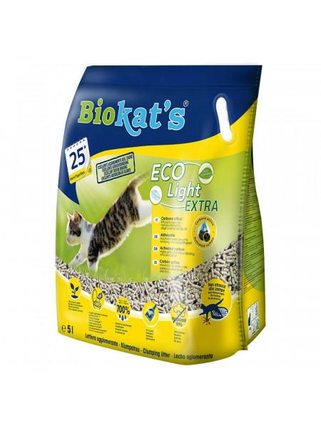 Наполнитель туалета для кошек Biokat's Eco Light Extra 5 л (тофу)