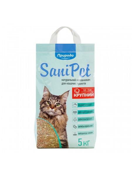 Наполнитель туалета для кошек Природа Sani Pet 5 кг (бентонитовый крупный) - PR240779