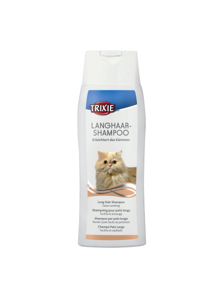 Шампунь для кошек Trixie 250 мл (для длинной шерсти)