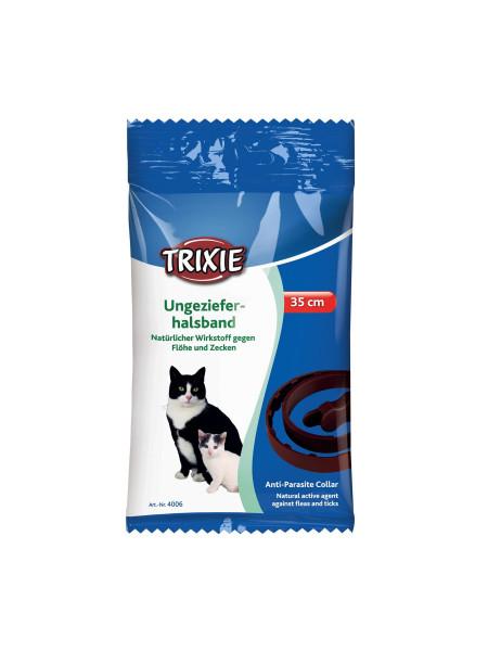 Био-Ошейник для кошек Trixie 35 см (от внешних паразитов)