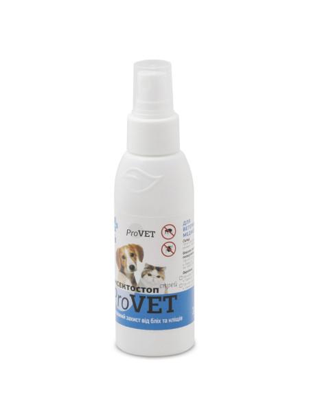 Спрей для кошек и собак ProVET «Инсектостоп» 100 мл (от внешних паразитов) - dgs