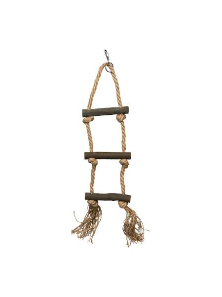 Игрушка для птиц Trixie Лесенка верёвочная «Natural Living» 40 см (натуральные материалы)