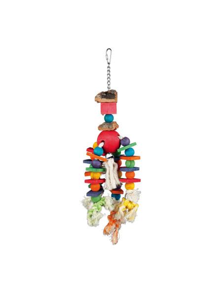 Игрушка для птиц Trixie подвесная 35 см (натуральные материалы) - 58986