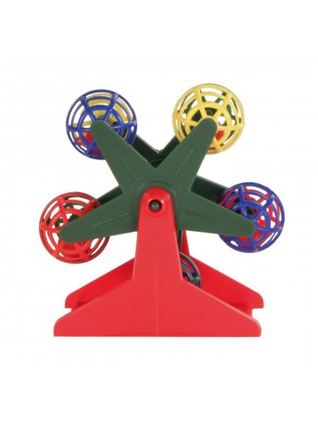 Игрушка для птиц Trixie Карусель 10 см (пластик)