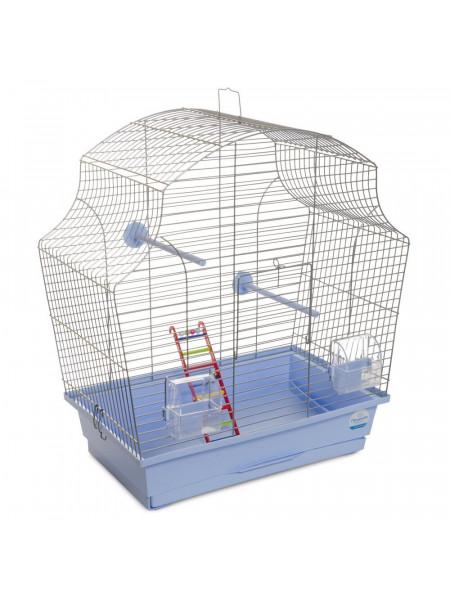 Клетка для птиц Природа «Мери» 44 x 27 x 54 см (голубая)