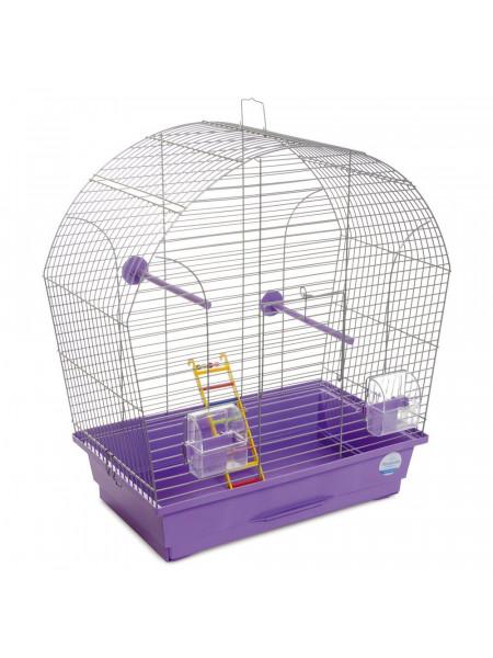 Клетка для птиц Природа «Лина» 44 x 27 x 54 см (фиолетовая)