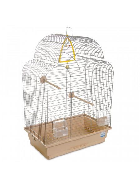 Клетка для птиц Природа «Изабель 1» 44 x 27 x 61 см (хромированная)