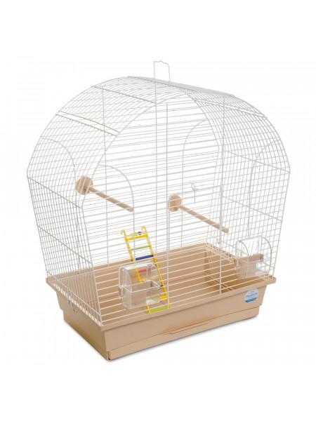 Клетка для птиц Природа «Лина» 44 x 27 x 54 см (коричневая)