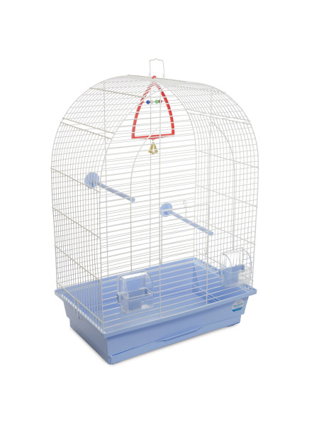 Клетка для птиц Природа «Арка» 44 x 27 x 65 см (голубая)