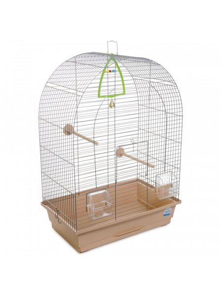 Клетка для птиц Природа «Арка» 44 x 27 x 65 см (коричневая)