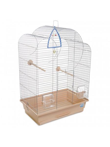 Клетка для птиц Природа «Воля» 44 x 27 x 63 см (коричневая)