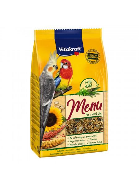 Корм для средних попугаев Vitakraft «Premium Menu» 1 кг