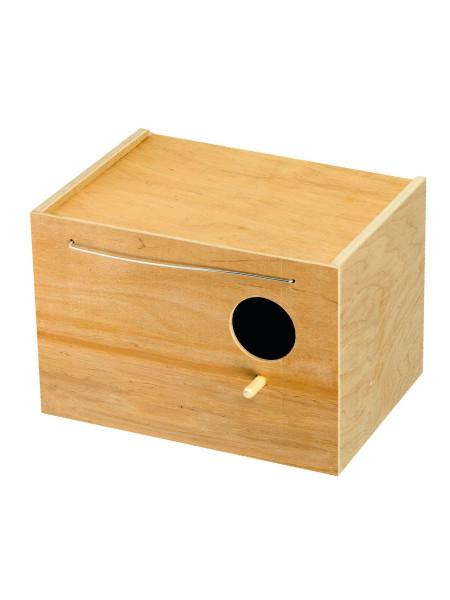 Домик для птиц Природа 24 x 17 x 17 см (дерево)