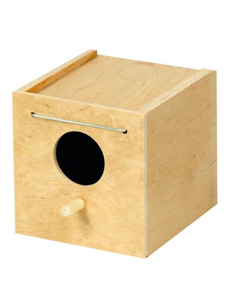 Домик для птиц Природа 13 x 11 x 11 см (дерево)