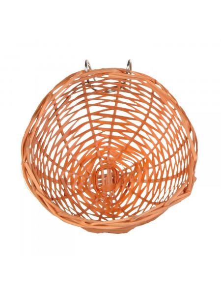 Гнездо для птиц Trixie плетёное d=10 см (бамбук)