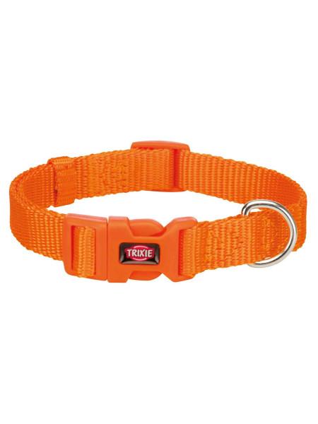 Ошейник Trixie нейлоновый «Premium» XXS-XS 15-25 см / 10 мм (оранжевый) - 202118