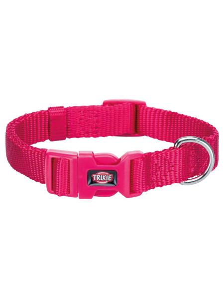 Ошейник Trixie нейлоновый «Premium» S-M 30-45 см / 15 мм (розовый) - 201511